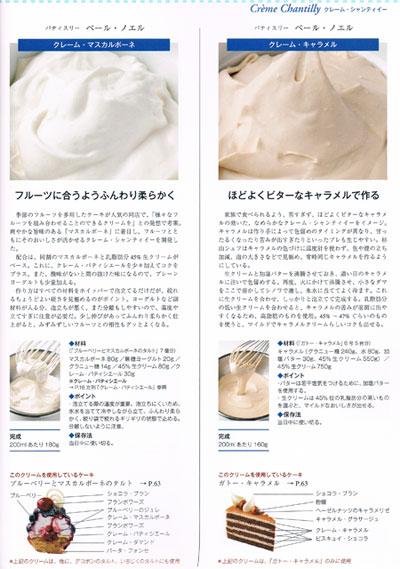 洋菓子クリームの辞典