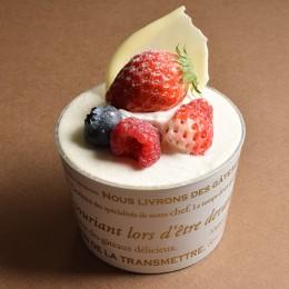 赤い果実のショートケーキ 400円